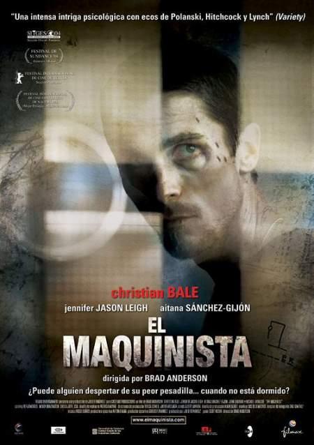 Cartel de la película El maquinista