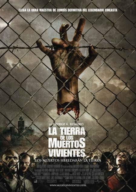 Cartel de la película La Tierra de los Muertos Vivientes