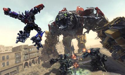 Transformers 2: La venganza de los ca�dos videojuego