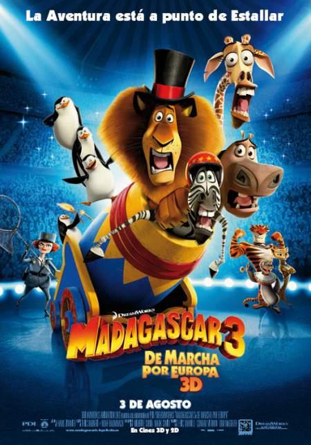 Cartel de Madagascar 3