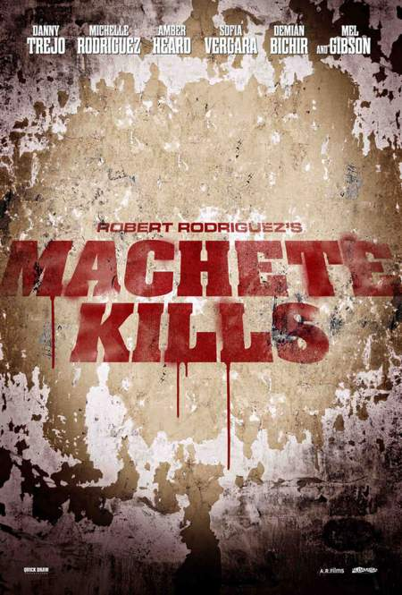 Cartel de Machete Kills
