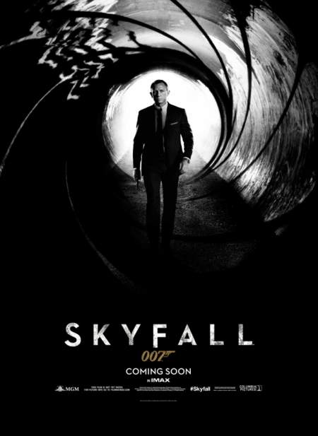 Cartel de Skyfall
