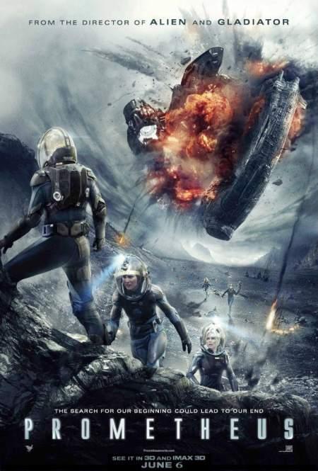 Poster de Prometheus