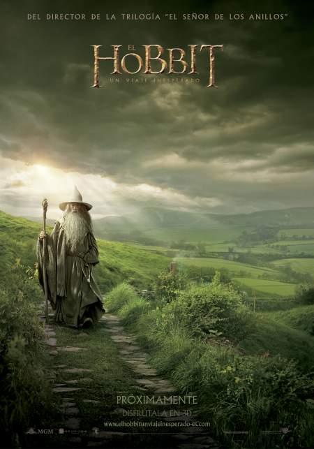 Cartel de El Hobbit: Un viaje inesperado