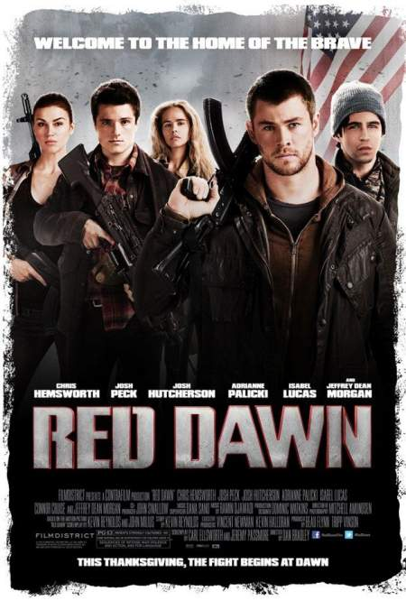 Cartel de Red Dawn