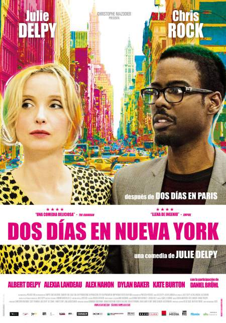 Cartel de 2 días en Nueva York