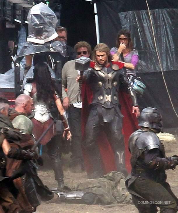 Rodaje de Thor 2: el mundo oscuro
