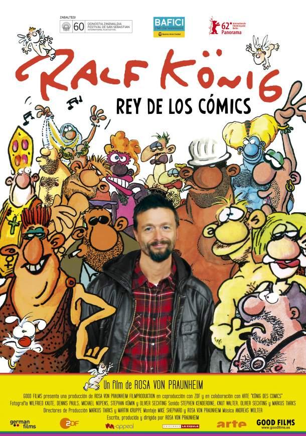 Cartel de Ralf König, rey de los cómics
