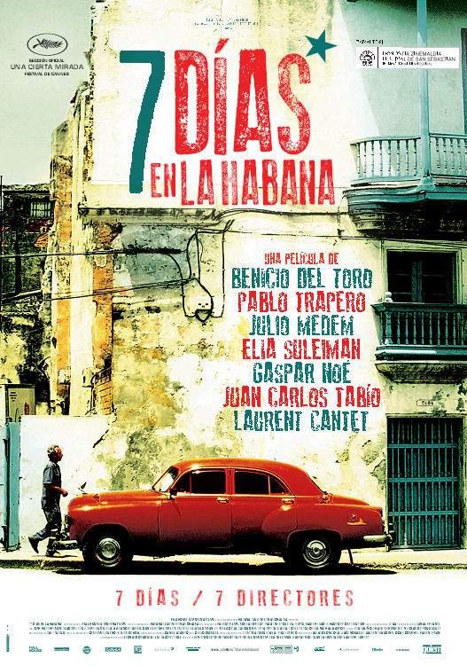 Cartel de 7 días en La Habana