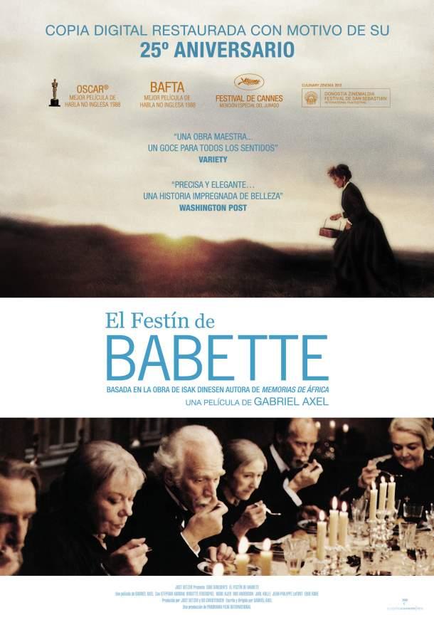 Cartel de El festín de Babette
