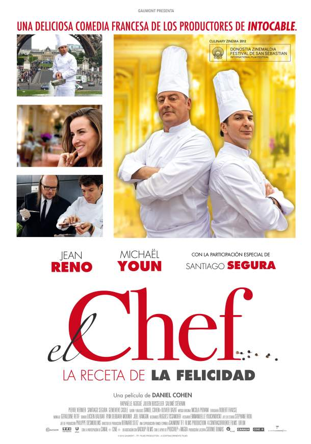 Cartel de El Chef