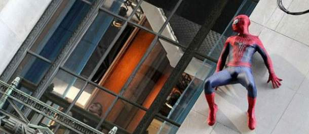 Andrew Garfield en The Amazing Spider-Man 2: El poder de Electro
