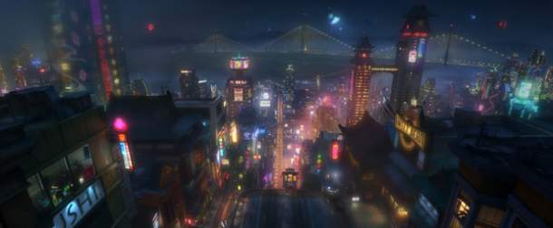 Arte conceptual de Big Hero 6