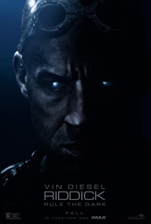Cartel de Las crónicas de Riddick 3
