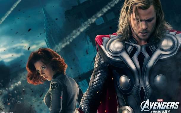 La Viuda Negra y Thor