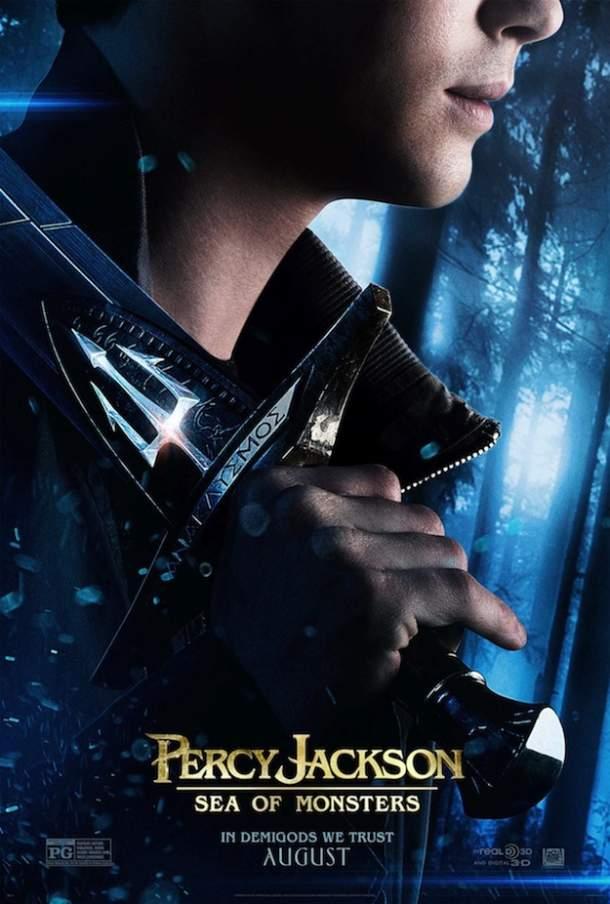 Cartel de Percy Jackson y el mar de los monstruos
