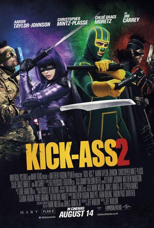 Cartel de Kick Ass 2 - Con un par