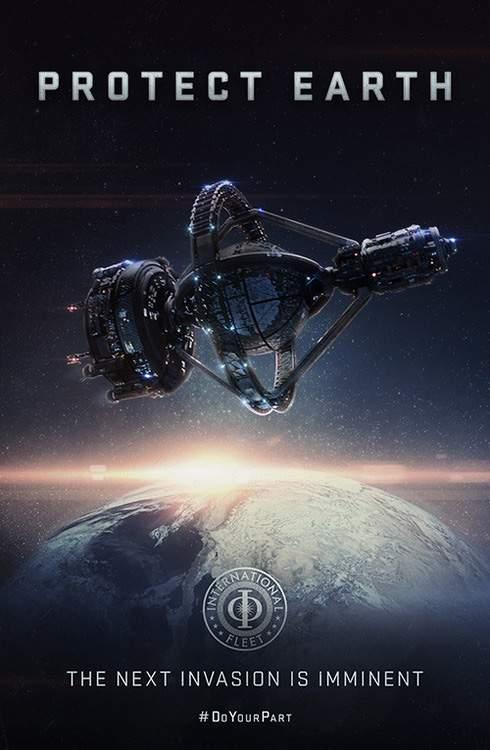 Cartel de El juego de Ender