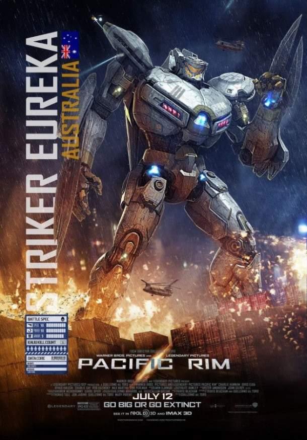 Poster de Pacific Rim