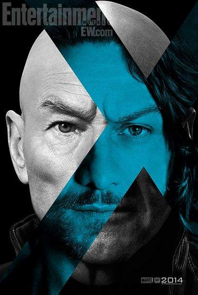 Cartel de X-Men: Días del futuro pasado