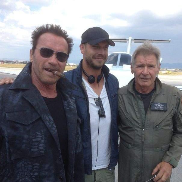 Arnold y Harrison juntos