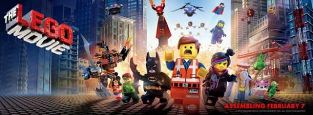 Banner de La Lego Película