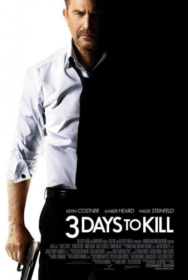 Cartel de Tres días para matar