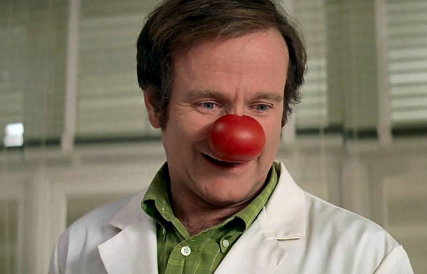 Escena de Patch Adams