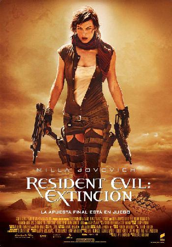 Cartel de Resident Evil 3: Extinction