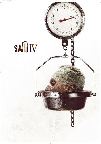 Cartel de Saw 4